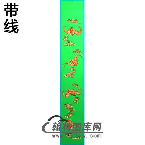 扶手面精雕图(BF-648)