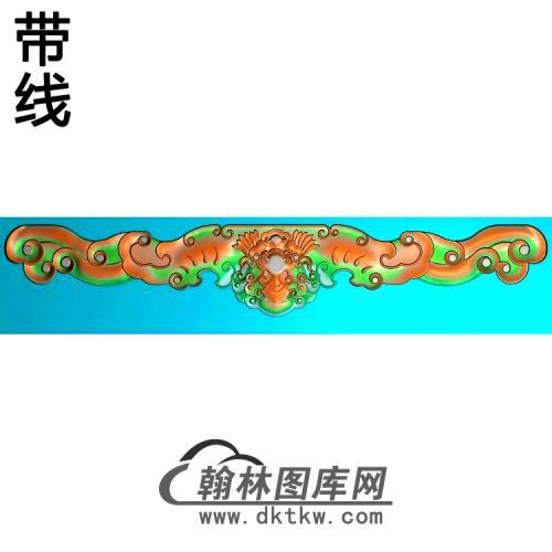 瑶台盛宴大床3精雕图(BF-670)