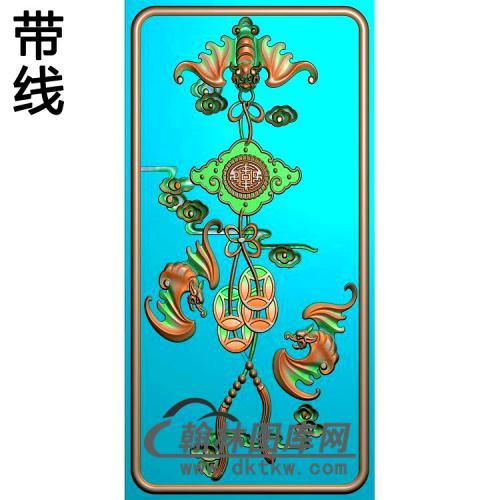 中华椅主前精雕图(BF-674)