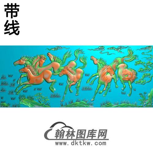 骏马图003_AUTOSAVE精雕图(JM-051)