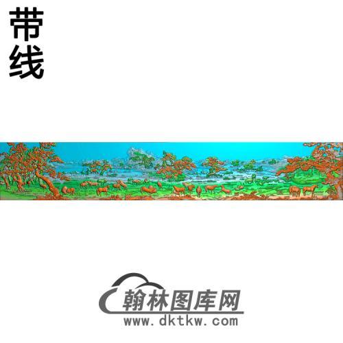 骏马图011_AUTOSAVE精雕图(JM-053)