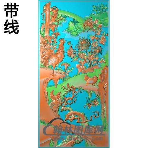 花草动物013_AUTOSAVE精雕图(J-011)