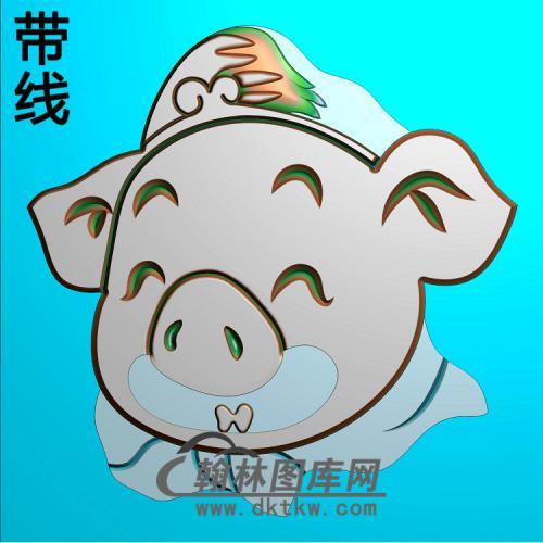 猪八戒精雕图(Z-012)