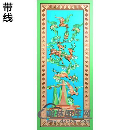 HD-113-花草动物系列精雕图(L-006)
