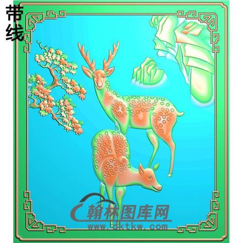 HD-187-花草动物系列精雕图(L-008)
