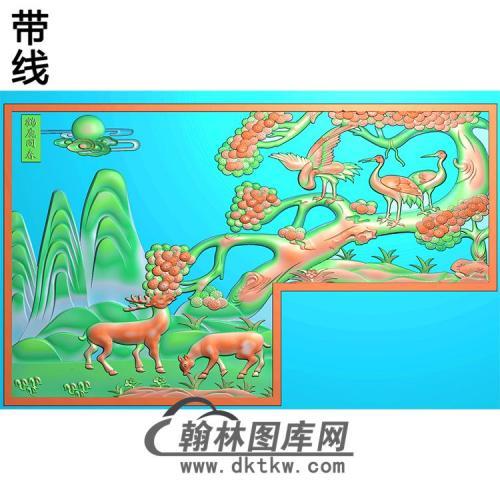 HD-216-花草动物系列精雕图(L-009)