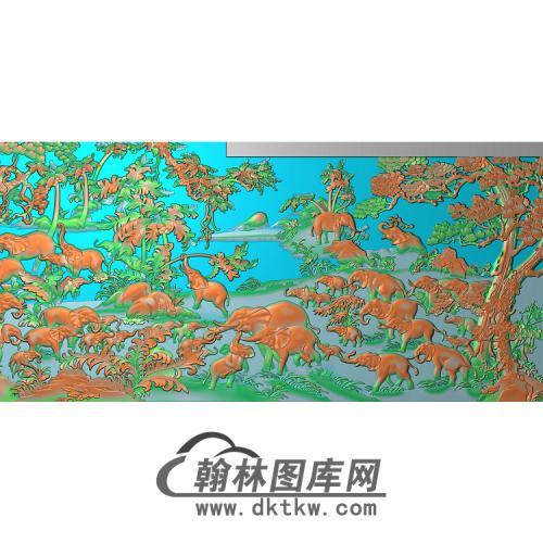 DX-201-大象无线精雕图(DX-006)