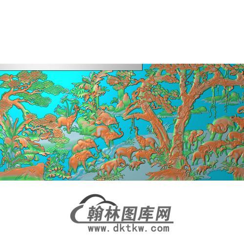 DX-202-大象无线精雕图(DX-007)