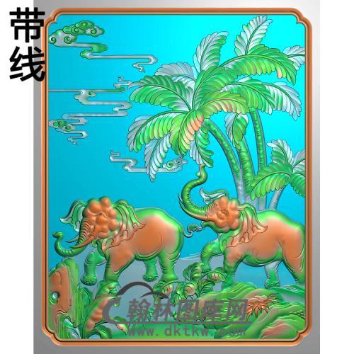 HD-106-花草动物系列精雕图(DX-012)