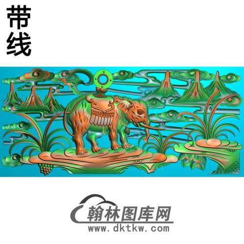 HD-107-花草动物系列精雕图(DX-013)