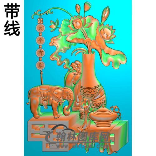 HD-164-花草动物系列精雕图(DX-014)