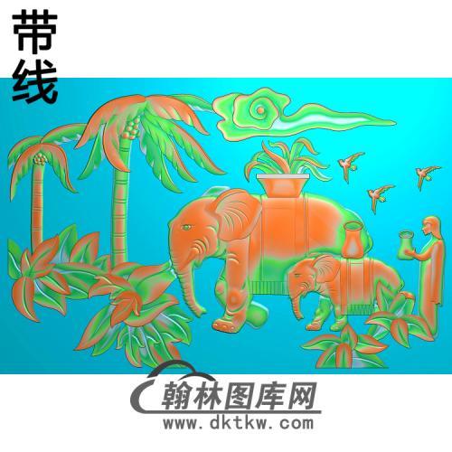 花草动物精雕图048_AUTOSAVE(DX-036)