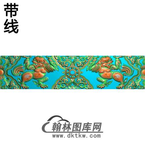 DW-097-动物系列精雕图(SZ-011)