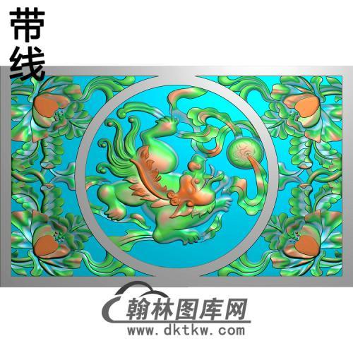 HD-224-花草动物系列精雕图(SZ-013)