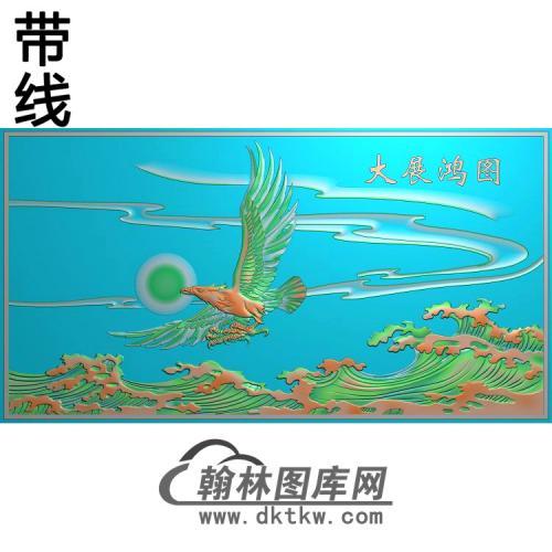 DW-074-动物系列有线精雕图(HNY-008)