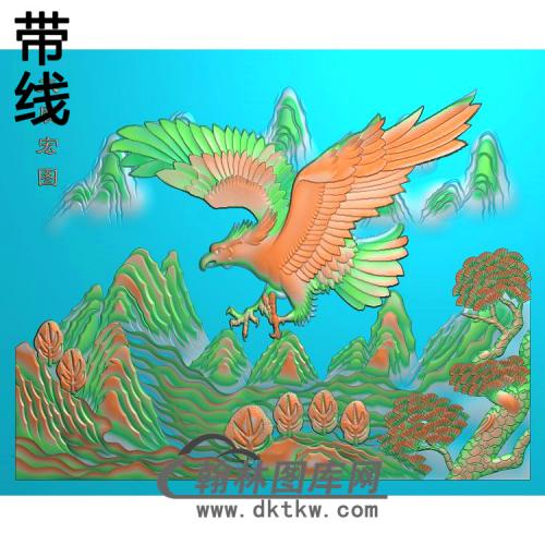 花草动物005_AUTOSAVE精雕图(HNY-031)