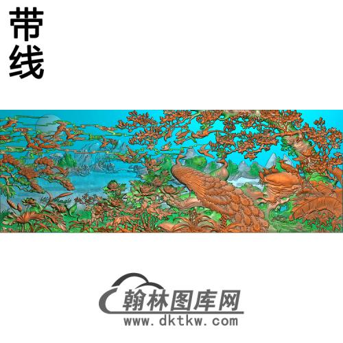 YD-38精雕图(HKQ-025)