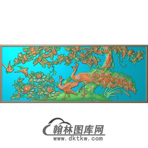 YD-100无线条精雕图(HKQ-026)
