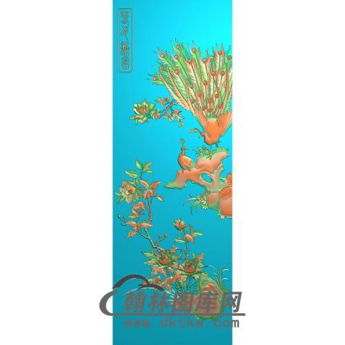 大门板2无线精雕图(HKQ-036)