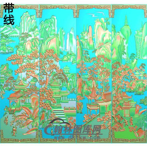 静香风景精雕图(SSTT-004)