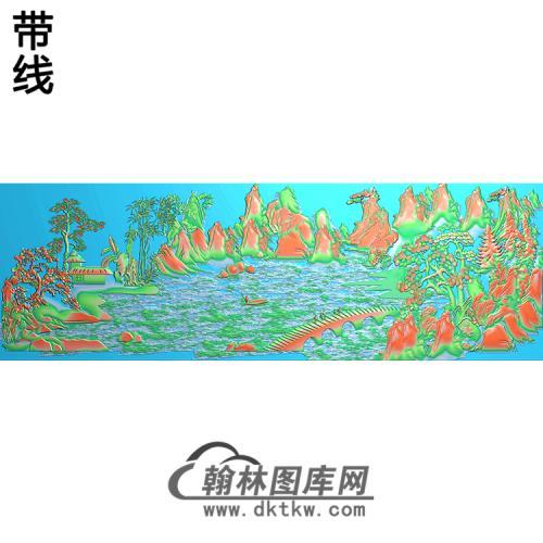 SS-087-山水系列精雕图(SSFJ-057)