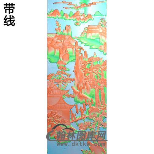 大门2精雕图(SSFJ-196)