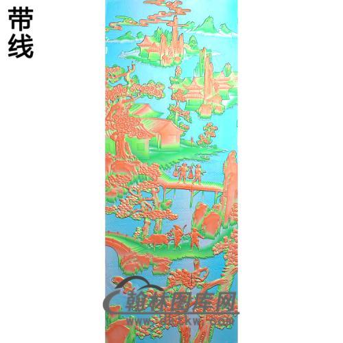大门3精雕图(SSFJ-197)