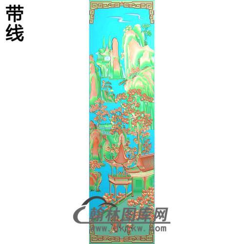 静香风景3精雕图(SSFJ-205)