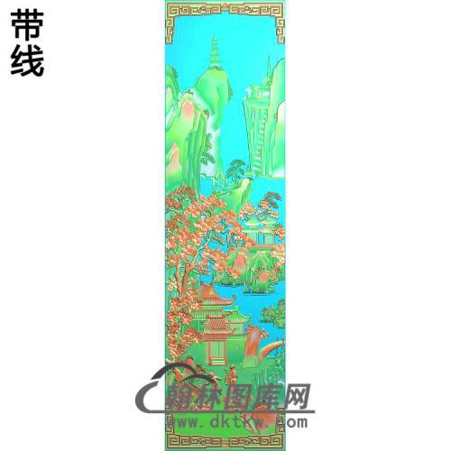 静香风景4精雕图(SSFJ-206)