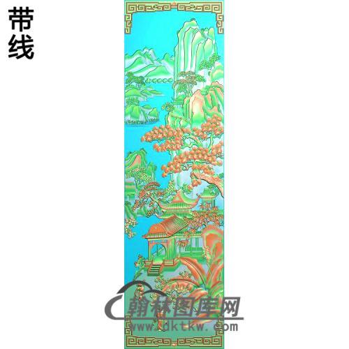 静香风景色1精雕图(SSFJ-207)