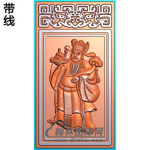MS-201-财神精雕图(CS-017)