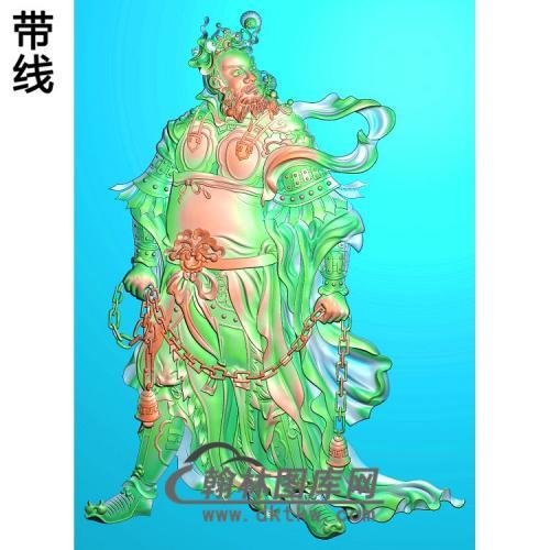 GD-2009武将2精雕图(MS-001)