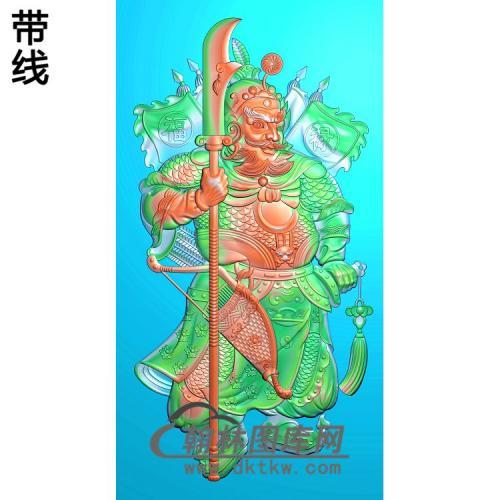 MS-1327-精品门神精雕图(MS-008)