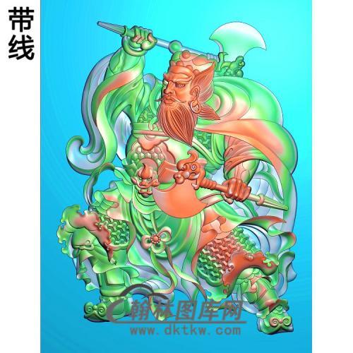 MS-1329-精品门神精雕图(MS-010)