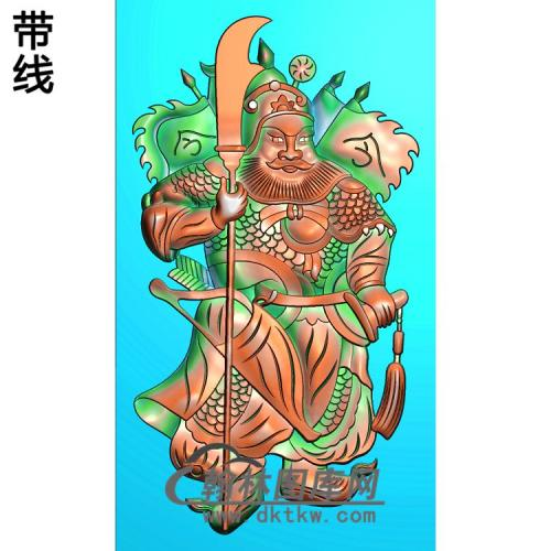 MS-1330-精品门神精雕图(MS-011)