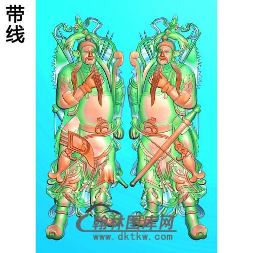 门神精雕图(MS-014)