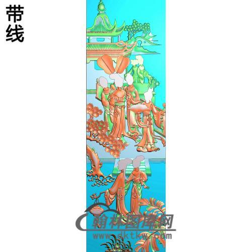 SN-012-侍女精雕图(SN-077)