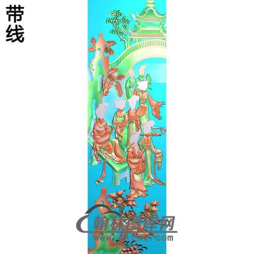 SN-013-侍女精雕图(SN-079)