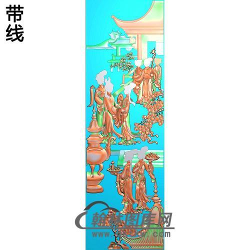 SN-014-侍女精雕图(SN-080)