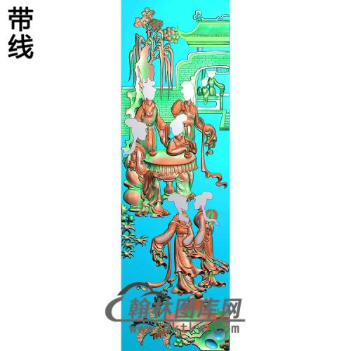 SN-015-侍女精雕图(SN-082)