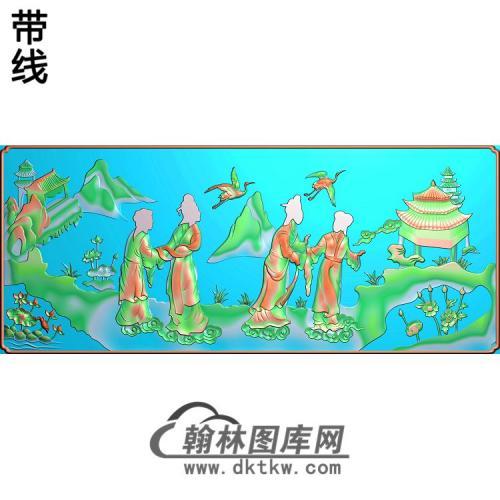 SSJZ-000024-仕女大精雕图(SN-104)