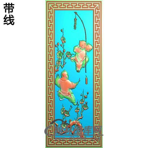 梅花童子6666精雕图(TZ-116)