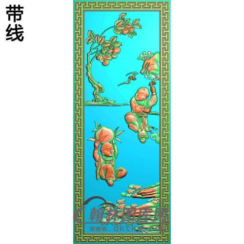 童子5精雕图(TZ-131)