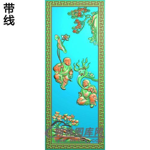 童子6精雕图(TZ-132)