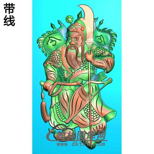 MS-1325-精品关公门神精雕图(GG-028)