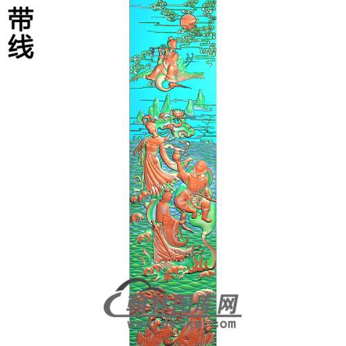 八仙1,拼精雕图(BX-147)