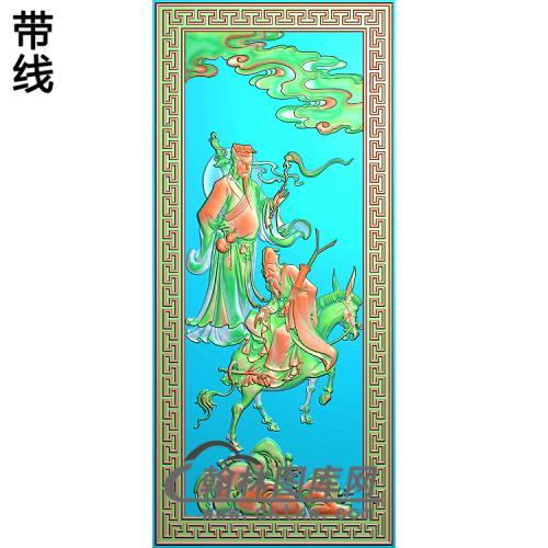 八仙003精雕图(BX-150)