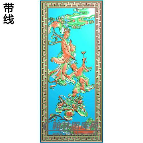 八仙004精雕图(BX-151)