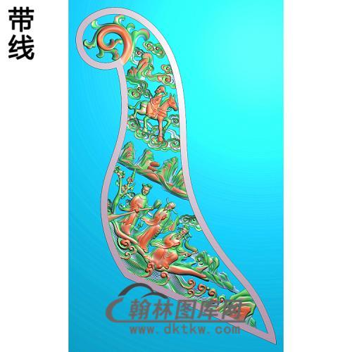 人物 八仙2精雕图(BX-184)
