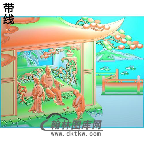 X-008-24孝图精雕图(ESSX-008)